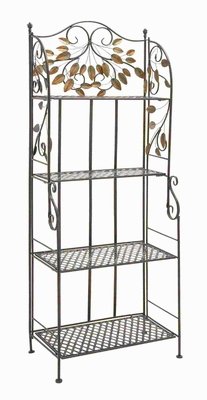 Durable and Long Lasting Metal Bakers Rack with Sturdy Design Brand Woodland