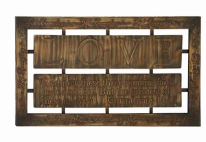 Durable and Long Lasting Metal Wall Decor with Fabulous Shaped Brand Woodland