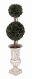 Durable Double Grass Ball Tree in Sturdy Plastic Construction Brand Woodland