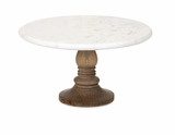 Durable Lissa Marble Cake Stand