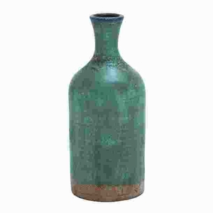 Durable Terracotta Bottle Vase with Distinctive Pattern Brand Woodland