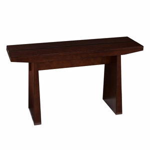 Durable Wooden Brown Capistrano Console Table by Southern Enterprises