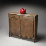 "Dusty Trail Console Cabinet 39""W by Butler Specialty"
