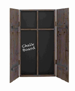 Dutch Blackboard Exclusive Wall Cabinet Brand Benzara