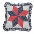 Eastpointe Twin Quilt with Hand Stitched Geometrical Patchwork Brand VHC