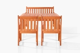 Edgewood Four-Seater Dining Set by Vifah