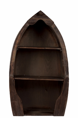 Egg Shaped Customary Styled Wooden Cabinet
