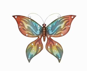 Elegant Abstract Styled Wall Butterfly d'cor Brand Benzara