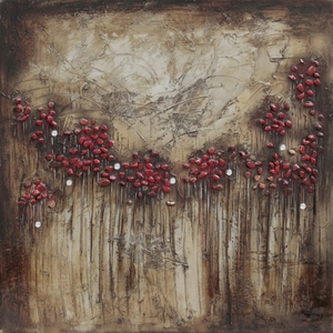 Elegant Blooms and Berries II Painting by Yosemite Home Decor
