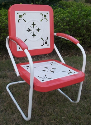 4D Concepts Elegant Chair with Beautiful Cutout Design
