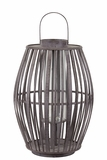 Elegant Chinese Bamboo Lantern in Brown Large