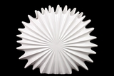 Elegant & Gorgeous Ceramic Seashell Decorative Showpiece in White