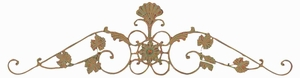Elegant Metallic Wall Decor Crafted with Artistic Design Brand Woodland