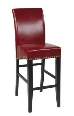 Elegant Modish Styled Quality Parsons Barstool by Office Star