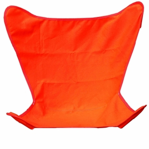 Elegant Orange Replacement Cover for Butterfly Chair by Alogma