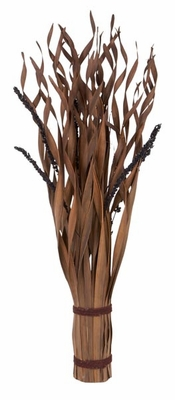 Elegant Palm Bundle Decor in Brown Finish with Modern Look Brand Woodland