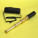 Elegant Retractable Telescope with Genuine Leather Case by IOTC