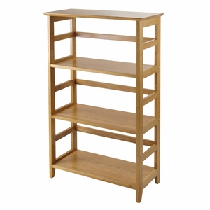 Winsome Wood Elegant Studio Three Tier Bookshelf