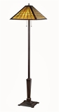Elegant Styled Decorative Mission Floor Lamp by Chloe Lighting
