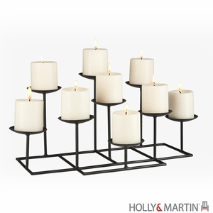 Elegant Styled Holly & Martin Campbell Candelabra by Southern Enterprises