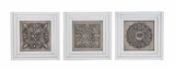 Elegant Styled Metal Wall D�cor 3 Assorted by Woodland Import