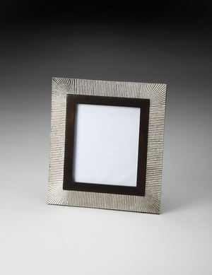 Elegant Styled Ripple Effect Picture Frame by Butler Specialty