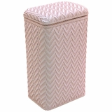 Elegante Collection Apartment Hamper in Crystal Pink by Redmon