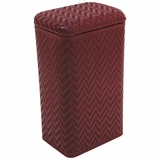 Elegante Collection Apartment Hamper in Raspberry by Redmon