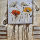 Elegantly Painted Poppies For You I Painting by Yosemite Home Decor