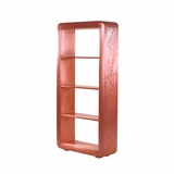 Elegantly Styled Aged Copper Book Case by Yosemite Home Decor