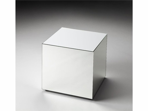 "Emerson Mirrored Bunching Cube 15.75""W by Butler Specialty"