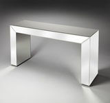"Emerson Mirrored Console Table 55""W by Butler Specialty"