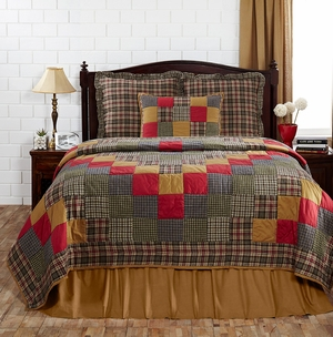 "Emery Standard Sham Quilted 21"" x 27"" by VHC Brands"