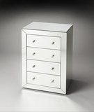 "Emma Mirrored Accent Chest 24""W by Butler Specialty"