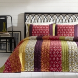 Emma Queen Set; 1-Quilt 90x90 w/2 Shams 21x27