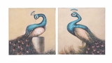 Enchanting and Adoring Canvas Art 2 Assorted by Woodland Import