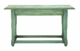 Enchanting And Simple Console Table With Aged Woodwork Brand Woodland