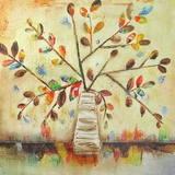 Endearing Styled Fall into Color I Classy Painting by Yosemite Home Decor