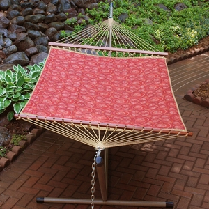 Enterprise Colonial 13' Reversible Quilted Hammock by Alogma