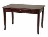 Enthralling and Modern Merlot Wooden Desk by Office Star