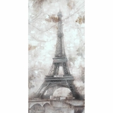 Enthralling Picture of Grey Eiffel by Yosemite Home Decor