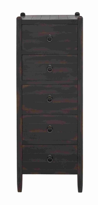 Enticing Brown Wooden Dresser with Storage Drawers Brand Benzara