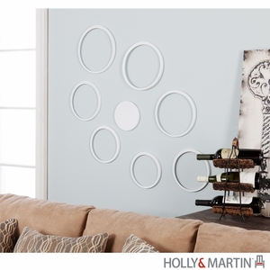 Enticing Bubbles Eight Pieces Circular Wall Sculpture by Southern Enterprises