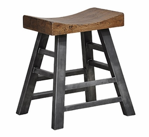 Enticing Morella Square Wooden Top Counter Stool
