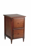 Enticing Piece of Polished File Cabinet with Two Drawers by Office Star