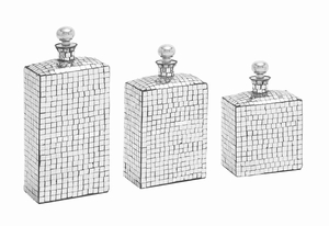 Erlangen Enigmatic Creative Stopper Bottle Set Brand Benzara