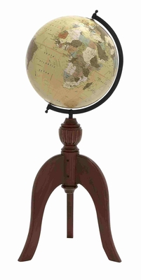 Erlangen Enlightening Globe Model With Stand Brand Benzara