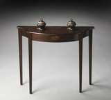 "Espresso Console Table 36""W by Butler Specialty"