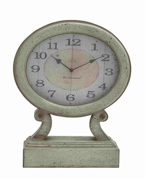 Essen Table Clock Aesthetically Designed Wonderful Creation Brand Benzara