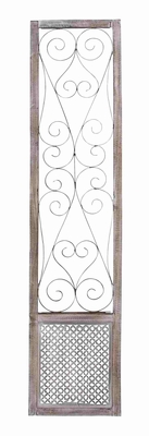 Essen Traditionally Etched Enigmatic Wall Panel Creation Brand Benzara
